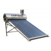 Buy cheap Galvanized color steel Stable pre-heated solar water heater system from wholesalers