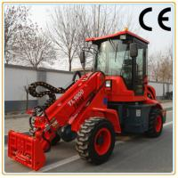 Buy cheap Multifunction construction machine TL1000 articulated backhoe loader from wholesalers