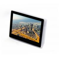 Buy cheap Popular POE NFC LED Light Touch Screen 7'' Inwall Mount Tablet PC For Digital Signage from wholesalers