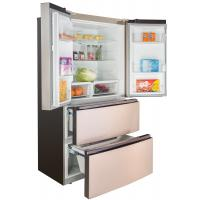 Buy cheap Home Appliance Four Doors French Fridge Freezer Electronic Control With LCD Touch Key from wholesalers
