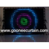 Buy cheap Flexible LED Curtain Display for Bar Background Decoration from wholesalers