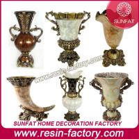 Buy cheap Polyresin Resin square vase from wholesalers