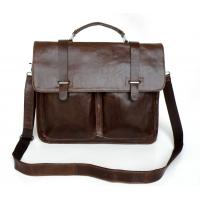 Buy cheap Wholesale Price Real Vintage Leather Men's Laptop Bag Messenger Bag #7013Q-2 from wholesalers