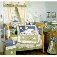 Buy cheap Clover Fields 6-piece Baby Crib Bedding Set from wholesalers