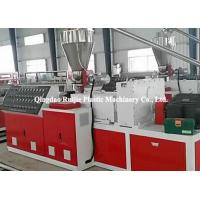 Buy cheap Sound Insulation Plastic PVC Profile Production Line Stable Output Air Tightness from wholesalers