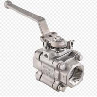 Buy cheap A105N Full Bore Ball Valve Three Piece Body Sw Connection 800lb Pressure from wholesalers