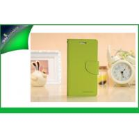 Buy cheap Samsung Galaxy S4 / I9500 Cell Phone Wallet Cases With Card Slot Green from wholesalers