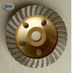 China Well - Balanced 125mm Turbo Diamond Grinding Wheels For Stone on sale