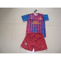 Buy cheap Soccer jersey wholesale Barcelona 10 Lionel Messi Kids Home Jersey - Blue 2011-2012 Home Kit free shipping soccer uniforms suit from wholesalers