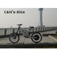 Buy cheap 72V 8000W Off Road Electric Bike With Self Charging Lithium Battery product