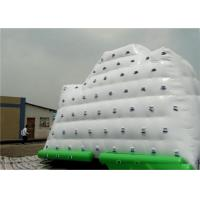 Buy cheap White Inflatable Water Sports , 3 Sides Inflatable Iceberg For Climbing In Beach Park And Swimming Pool product