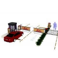 Buy cheap Exit / Entrance RFID Parking Fee Management System With Advertising Channel Gate product