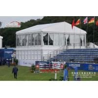 Buy cheap High End Auction Cube Structure Double Decker Tent With Two Floors from wholesalers