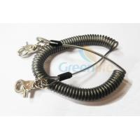 Buy cheap Heavy Duty Coil Tool Lanyard , High Security Coiled Security Tethers Load 15KG product