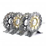 Buy cheap Street Bike Motorcycle Brake Disc Break Disk Hornet 600F 07-13 296mm from wholesalers
