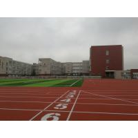 Buy cheap Lower Gravity EPDM Running Track , Anti Abrasion Commercial Synthetic Athletic Track from wholesalers
