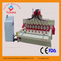Buy cheap DSP 4 axis cylindrical cnc router machine for buddha status engraving TYE-2415-8R from wholesalers