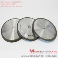 Buy cheap Resin bonded superhard materials can be used to process customized diamond grinding wheels Alisa@moresuperhard.com from wholesalers