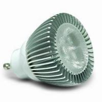 Buy cheap Energy Saving 4 X 1 W 320 - 450LM Aluminum Lamp Body Gu10 LED Spotlights Bulbs from wholesalers