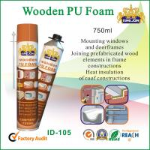 Buy cheap Waterproof Wooden Pu Foam Spray / Seals 750ml For Door Frame And Window from wholesalers
