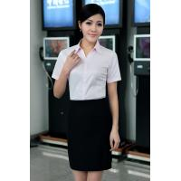 Buy cheap OEM/ODM/Private Label Women's Short Sleeve Business Shirt corporate clothing from wholesalers