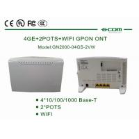Buy cheap 4 Data Ports GPON Optical Network Terminal +0.5-+5 dBm Optical Output GN2000-04GS-2VW from wholesalers