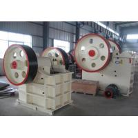 Buy cheap 250Kw Jaw Crusher Machine , JC Series Highly Abrasive Stone Crusher Machine from wholesalers