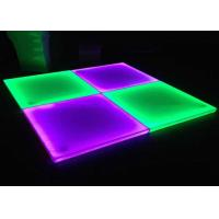 Buy cheap RGB Seamless Interactive Led Display , Dance Floor Led Screen For Stage 10kg from wholesalers