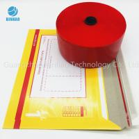 Buy cheap Red MOPP PET Tobacco Cigarette Tear Tape 30mic - 50mic Thickness product