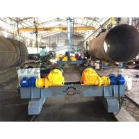 China Welding Pipe Tank Rotating PU Roller Bolt-shift Inverter Motor Move on Rails on sale