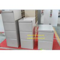 Buy cheap To offer white coler vetical filing cabinet/knocked down structure/powder from wholesalers