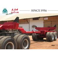 China Heavy Duty Log Loader Trailer , Log Truck Trailer For Carrying Carry Log / Wood on sale