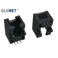 Buy cheap Unshielded 6 PIN Rj11 6P6C Connector Latch Down Right Angle Single Port from wholesalers