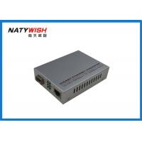 Buy cheap Smart Gigabit Ethernet Fiber Media Converter High Durability With Low Power Consumption from wholesalers
