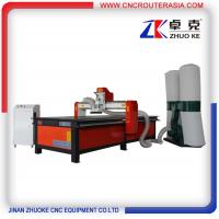 Buy cheap Dust collector Wood furniture engraving cutting machine with 3.2KW spindle ZK from wholesalers