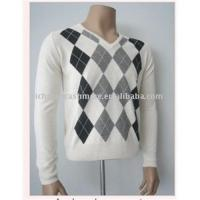 Buy cheap argyle cashmere sweater from wholesalers