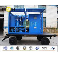 Buy cheap Phosphate Ester Fluids Vacuum Oil Purification Machine Stainless Steel from wholesalers