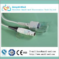 Buy cheap drager/siemens spo2 adapter cable,white lemo 8p male,compatible Vitalert 1000 Cicero product