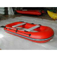 Buy cheap Custom Made Red Inflatable Fishing  Boat for Rental from wholesalers