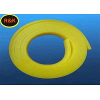 Buy cheap High Tolerance 85A Single Bevel Silk Screen Printing Squeegee Light Yellow Color from wholesalers