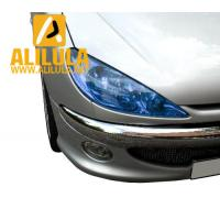 Buy cheap New item self-adhesive car vinyl lamp film blue headlight sticker in 0.3*10m from wholesalers