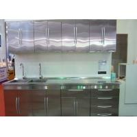 Buy cheap Granite Countertop Kitchen Stainless Steel Cabinets Classic / Tranditional Design from wholesalers