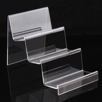 Buy cheap 3 Layer Clear Acrylic Display Stand For Book / Cell Phone / Wallet / Hand Bag from wholesalers
