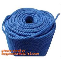 Buy cheap PP Twisted Split Film Rope, cheap and quality 3 inch polypropylene marine rope, polypropylene rope, PET+PP rope from wholesalers