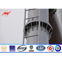 Buy cheap Electric Steel Angle Shape Tubular Towers Power Transmission Substation Power Pole from wholesalers