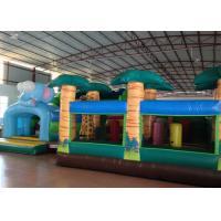 Big Party Custom Made Inflatables 0.55mm Pvc Tarpaulin For Kindergarten Baby