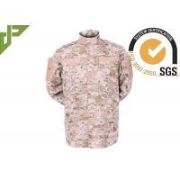 Digital Desert Military Combat Uniform , Army Duty Uniform 100% Cotton Twill XS - XXXL