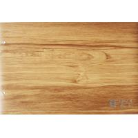 Buy cheap Membrane Press Wood Grain Laminate Roll , Cabinets Wood Effect Vinyl Film from wholesalers