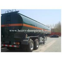 Buy cheap Metal 38000 liters 5 compartments 3 axles fuel tank semi trailer to load liquid product from wholesalers