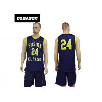 Buy cheap New Design Sublimation Custom Reversible Basketball Jersey Design from wholesalers